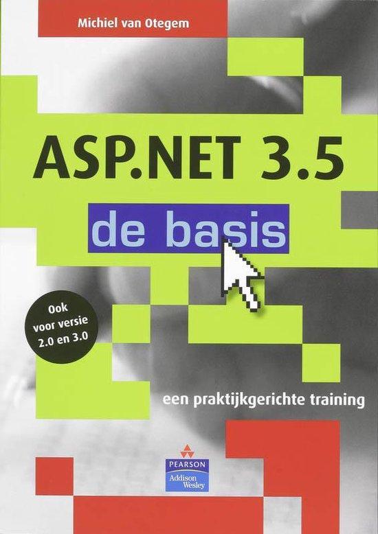 ASP.NET 3.5 - de basis - M. van Otegem |