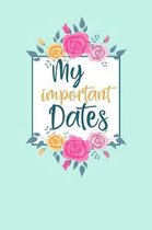 My Important Dates