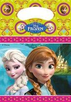 PROCOS - Set van uitdeelzakjes van Frozen - Decoratie > Feestzakjes