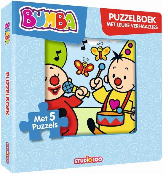 Afbeelding van Bumba - Puzzelboek met leuke verhaaltjes speelgoed