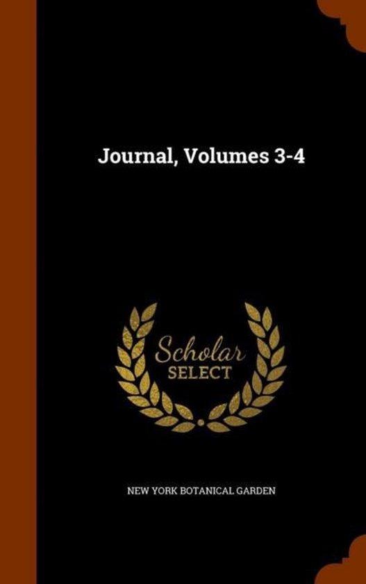 Journal, Volumes 3-4