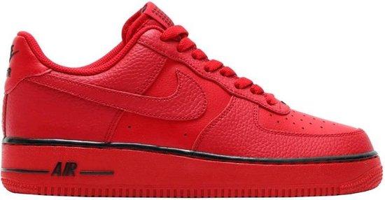 bol.com | Nike Sneakers Air Force 1 Heren Rood Maat 43
