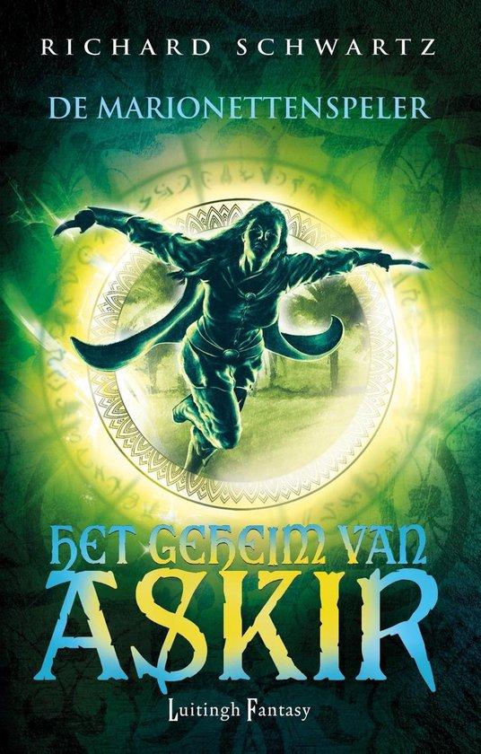 Cover van het boek 'De marionettenspeler' van Richard Schwartz