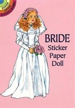 Bride Sticker Paper Doll