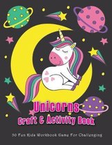 Unicorns Craft & Activity Book