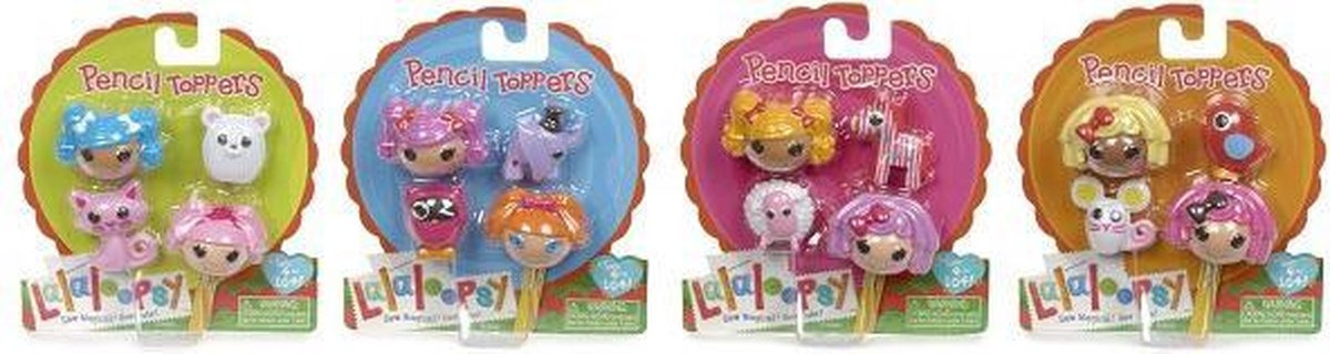Lalaloopsy Pencil Toppers Asst Wave 1