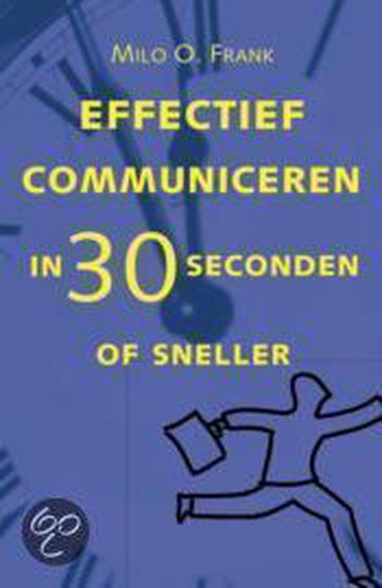 Cover van het boek 'Effectief communiceren'
