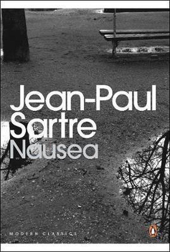 Boek cover Nausea van Jean-Paul Sartre (Paperback)