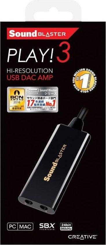 Creative Labs Sound Blaster PLAY! 3 2.0 kanalen USB
