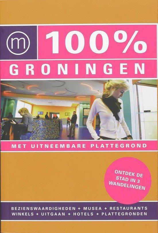 Cover van het boek '100% Groningen' van D. Paymans