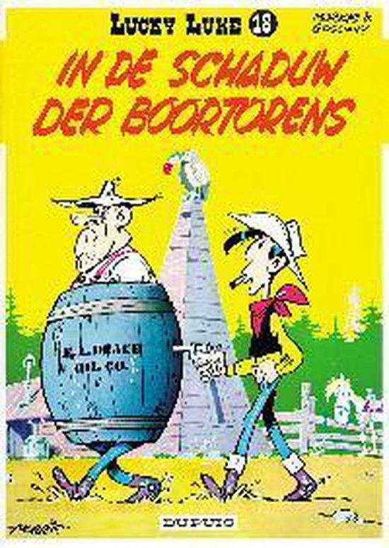 Cover van het boek 'Lucky Luke / 18 In de schaduw der boortorens'