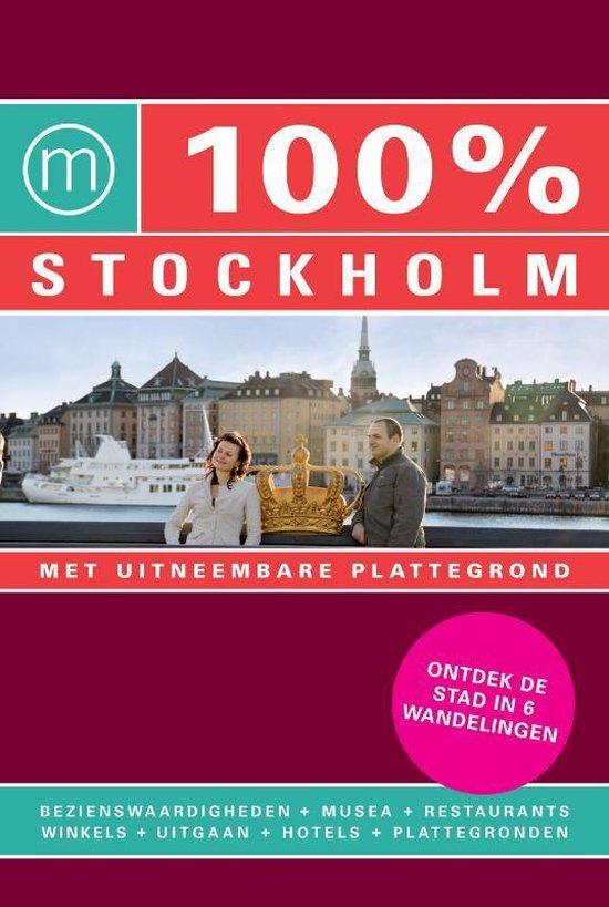 Cover van het boek '100%  / Stockholm + stadsplattegrond'