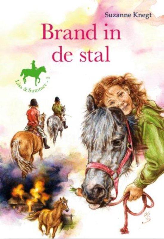 Brand in de stal - Suzanne Knegt  