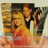 1-CD BIRTHE BLOM / CHRISTOPHER DEVINE - GOOD BEGINNINGS