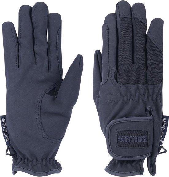 Handschoenen domy/mesh navy xxs