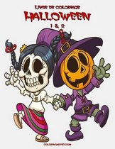 Livre de Coloriage Halloween 1 & 2