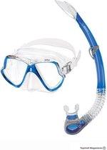 Mares Wahoo masker en snorkel - Blauw