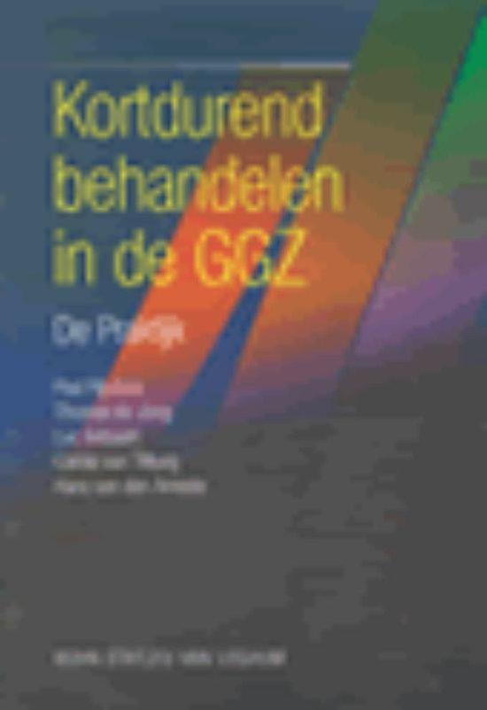 Kortdurend Behandelen In De Ggz - P. Rijnders   Fthsonline.com