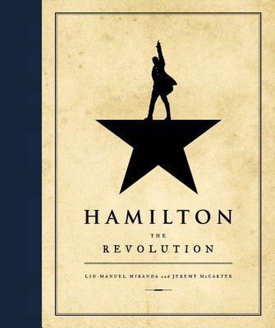 Boek cover Hamilton van Lin-Manuel Miranda (Hardcover)
