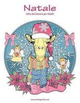 Natale Libro Da Colorare Per Adulti 1