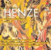 Hans Werner Henze: Violin Concertos Nos. 1-3