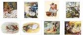 Ansichtkaarten - Beatrix Potter - Set van 8