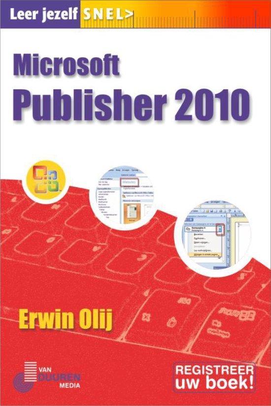Leer jezelf SNEL... - Publisher 2010 - Erwin Olij   Fthsonline.com