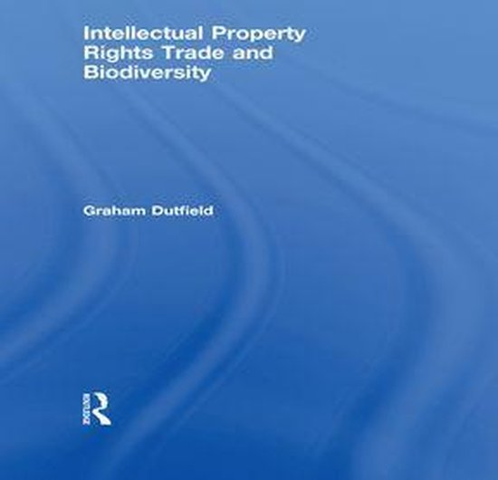 Omslag van Intellectual Property Rights Trade and Biodiversity