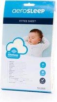 AeroSleep® SafeSleep hoeslaken - Bed - 120 x 60 cm - ecru