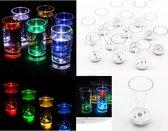 LED Shot Glaasjes Set - Borrelglaasjes Shotglazen Shot Glasses Set - Shotglas - 12 Stuks