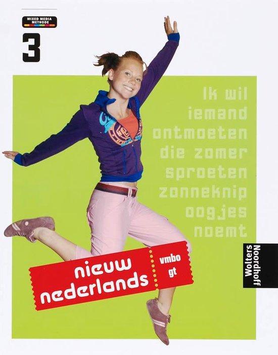 3 Vmbo-gt Nieuw Nederlands - T. Ekens  