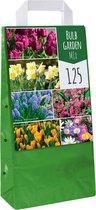 XXL draagtas Garden Mix - 125 bloembollen - 6 soorten