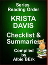 Krista Davis: Series Reading Order - with Summaries & Checklist
