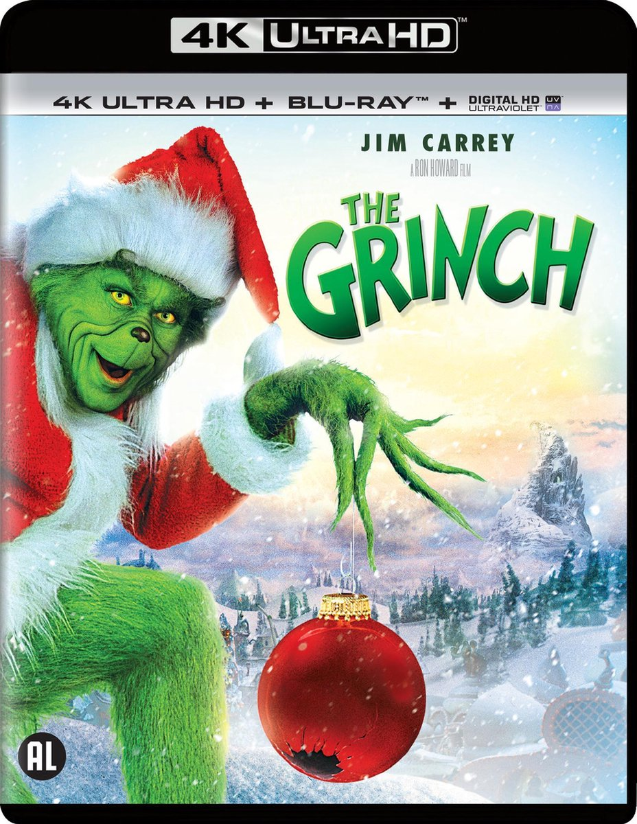 How the Grinch Stole Christmas (4K Ultra HD Blu-ray)-