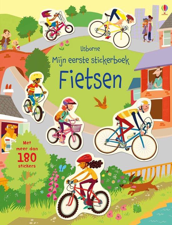 Mijn eerste stickerboek fietsen - Jessica Greenwell |