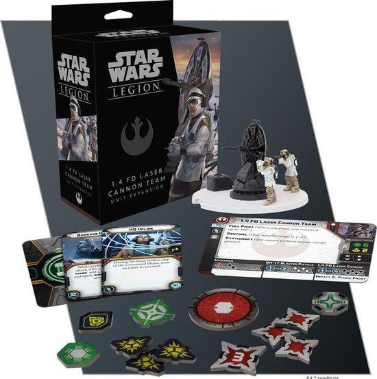 Thumbnail van een extra afbeelding van het spel Star Wars Legion: 1.4 FD Laser Cannon Team - EN
