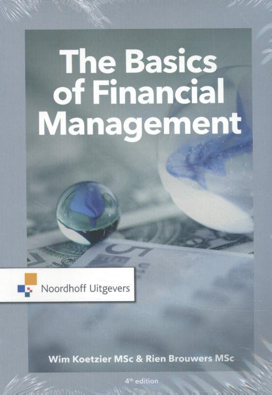 Boek cover The Basics of financial management van M.P. Brouwers (Paperback)