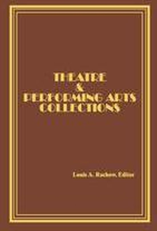 Afbeelding van Theatre and Performing Arts Collections
