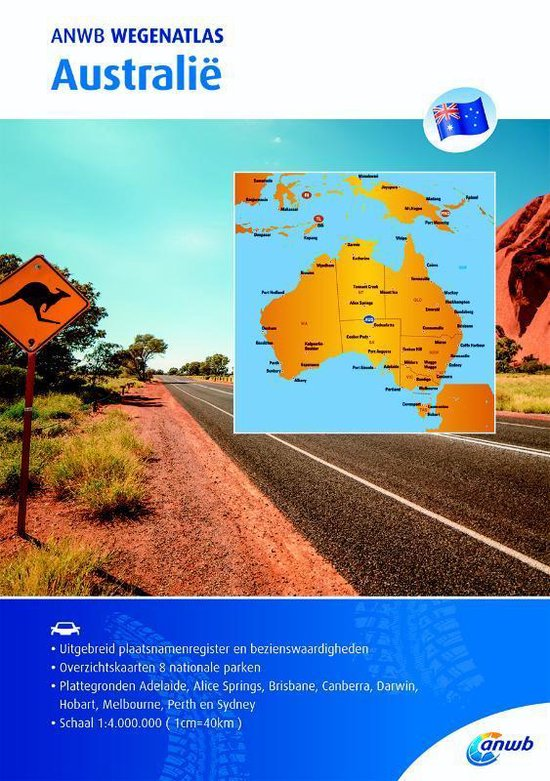 ANWB wegenatlas - Australië - ANWB | Readingchampions.org.uk