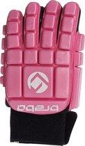 Brabo Full Finger Foam F3 Jr. - Zaalhockeyhandschoen - Links - Maat XXS - Roze