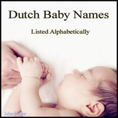 Dutch Baby Names