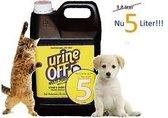 UrineOff geur- en vlekkenverwijderaar hond en kat 5 Liter