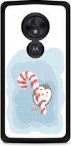 Motorola Moto G7 Play Hardcase hoesje Candy Pinquin