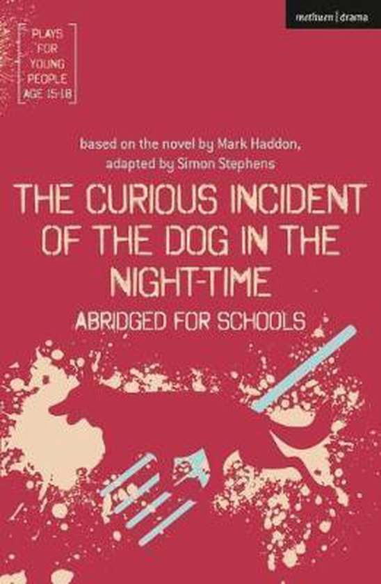 Boek cover The Curious Incident of the Dog in the Night-Time van Simon Stephens (Paperback)