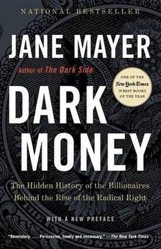 Boek cover Dark Money van Jane Mayer (Paperback)