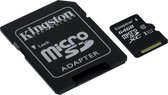 Kingston Micro SD kaart 64 GB + SD Adapter