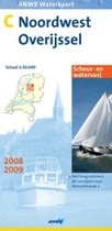Anwb Waterkaart C Noord-West Overijssel / 2008/2009 / Druk Heruitgave