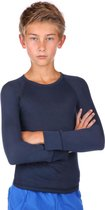 Thermoshirt kind donkerblauw unisex