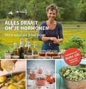 Boekomslag van 'Alles draait om je hormonen'