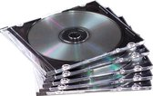 Fellowes CD doosje slimline transparant 25 stuks
